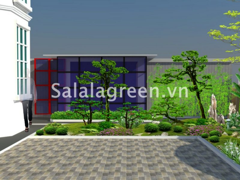 Thiết kế biệt thự Bảo Tín Minh Châu