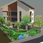 Thiết kế sân vườn biệt thự Gamudar Garden