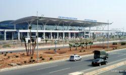 Thi công hạng mục Cảnh quan cây xanh tại dự án cảng hàng không quốc tế T2 Nội Bài