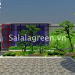 Thiết kế sân vườn Bảo Tín Minh Châu