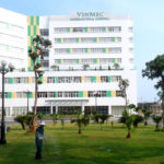 Chăm sóc cây xanh bệnh viện Vinmec Hạ Long