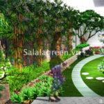 Thiết kế cảnh quan sân vườn biệt thự Xanh Villa