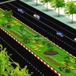 Thiết kế cảnh quan đại lộ Ninh Bình