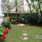 Thi công sân vườn biệt thự đẹp tại Vinhomes Riveside