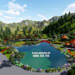 Quy hoạch cảnh quan Trạm dừng nghỉ Uông Bí Quảng Ninh