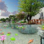 Thiết kế sân vườn Vinhomes