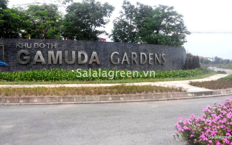 Thi công cây xanh dự án Garmuda Garden City