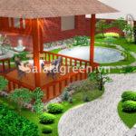 Thiết kế vườn cảnh Bắc Ninh