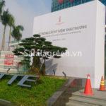 Thi công dự án cảnh quan Lotte Center Hà Nội