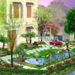 Thiết kế cảnh quan biệt thự Vinhomes Rivevside