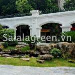 Thi công sân vườn biệt thự tại Nam Định