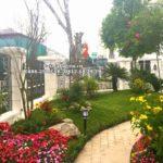 Thi công sân vườn biệt thự Hướng Dương – Vinhomes Riverside