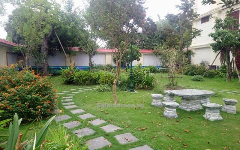 Thi công sân vườn tại Cổ Lễ Nam Định