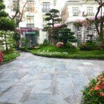 Thi công sân vườn biệt thự Vinhomes