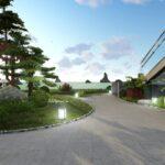Thiết kế sân vườn đẹp tại Hạ Long